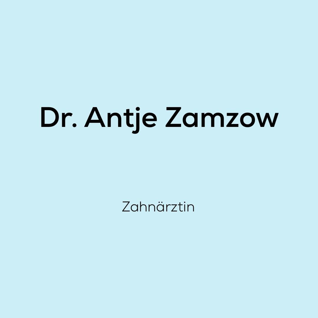 Wir, das Team von dent + face freuen uns sehr mit Dr. Antje Zamzow als Zahnärztin zusammenarbeiten zu dürfen.