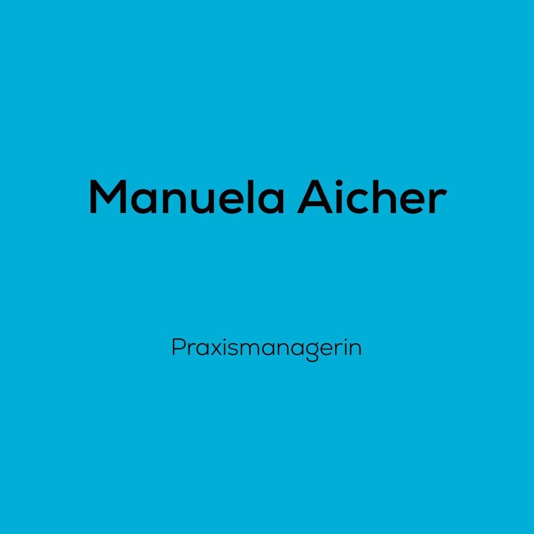 Manuela Aicher ist als Praxismanagerin für dent + face tätig und somit immer die erste Ansprechpartnerin für unsere Patienten
