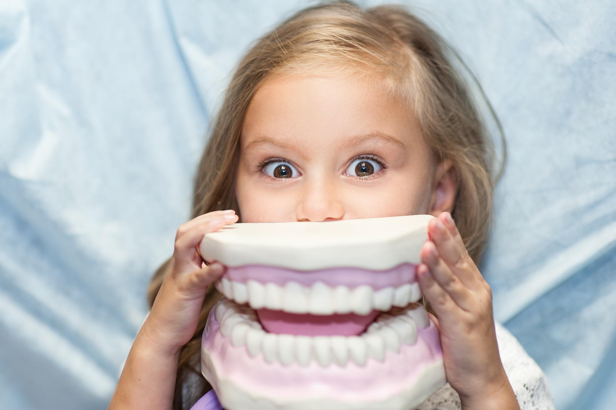 Zähneputzen macht Spaß